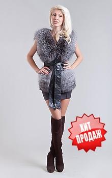 Жилет из Чернобурки