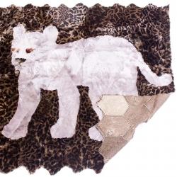 Детский ковер из овчины А712