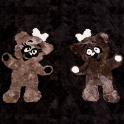 Детский ковер из овчины А715