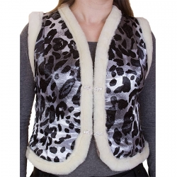 Женская жилетка из меха А601