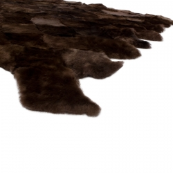 Ковер из меха А025