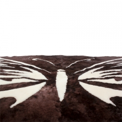 Коврик из шкуры - Бабочка А343