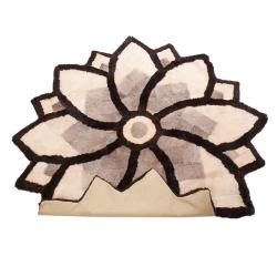 Круглый ковер Цветок А394