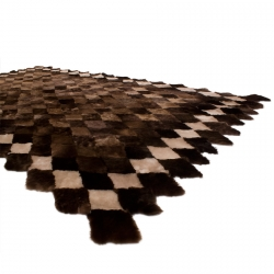 Меховой коврик А080