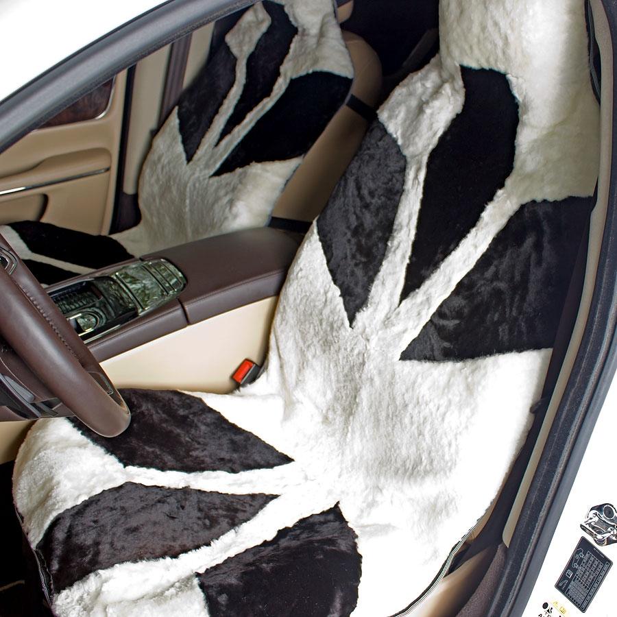 Меховые накидки на авто своими руками 39