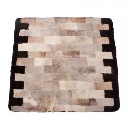 Накидка на диван из овчины А933
