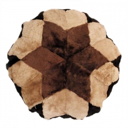 Диванные подушки из меха А2104