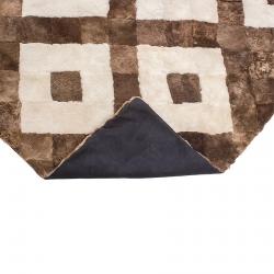 Декоративное покрывало из меха А214