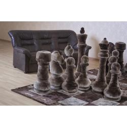 Шахматы из меха А11001