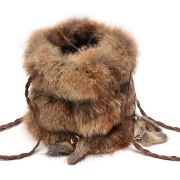 Женская сумка из лисы А1001