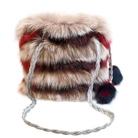 Женская сумка из меха А1011