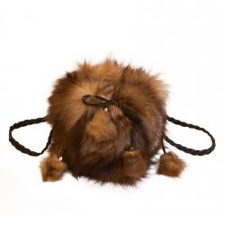 Женская сумка из меха А1030