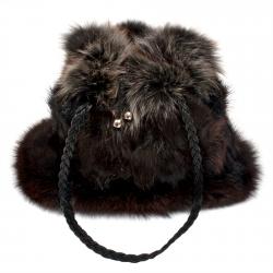 Женская сумка из меха А1048