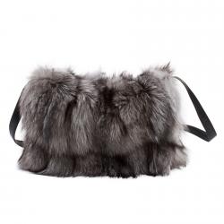 Меховая сумка из чернобурки А1053