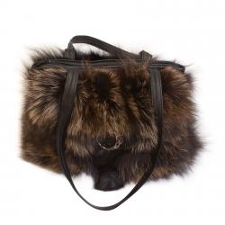 Женская сумка из меха А1009