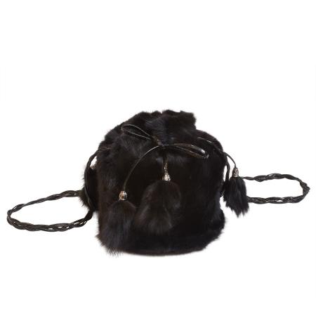 Женская сумка из меха А1027