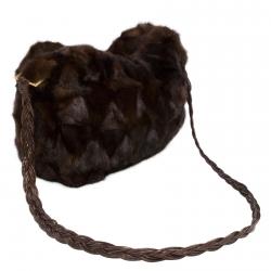 Женская сумка из меха А1050
