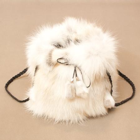 Женская сумка из меха А1034