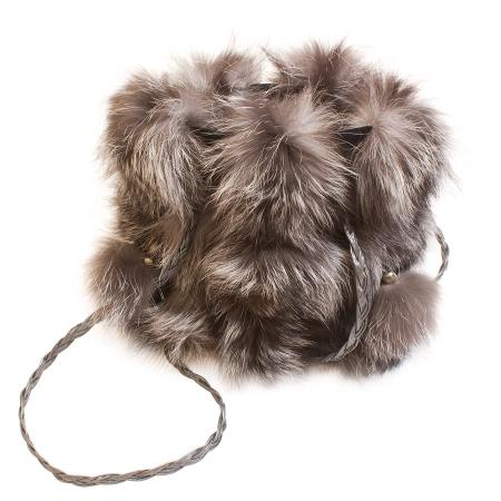 Женская сумка из меха А1013