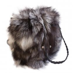 Женская сумка из меха А1017