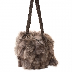 Женская сумка из меха А1035