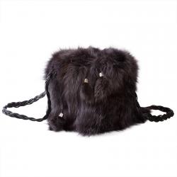 Женская сумка из меха А1058