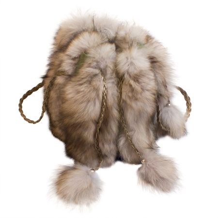 Женская сумка из меха А1016