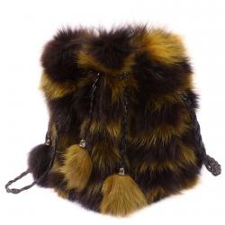 Женская сумка из меха А1019