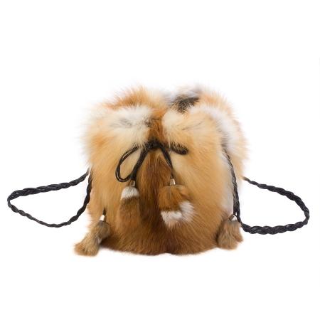Женская сумка из меха А1043
