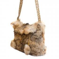 Женская сумка из меха А1012