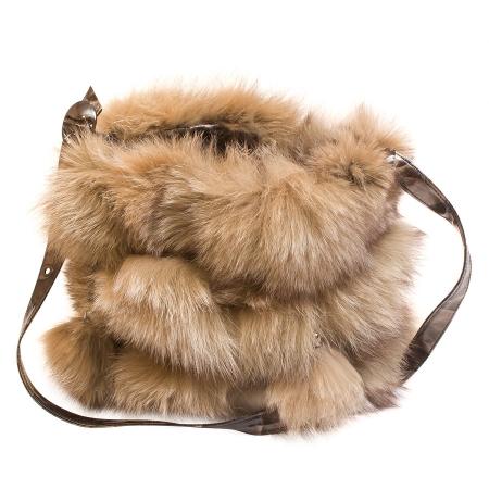 Женская сумка из меха А1021