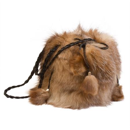 Женская сумка из меха А1029