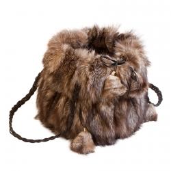 Женская сумка из меха А1033