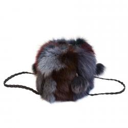 Сумка из меха Кролика А1015