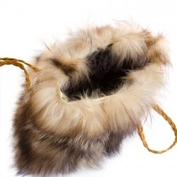 Женская сумка из меха А1020