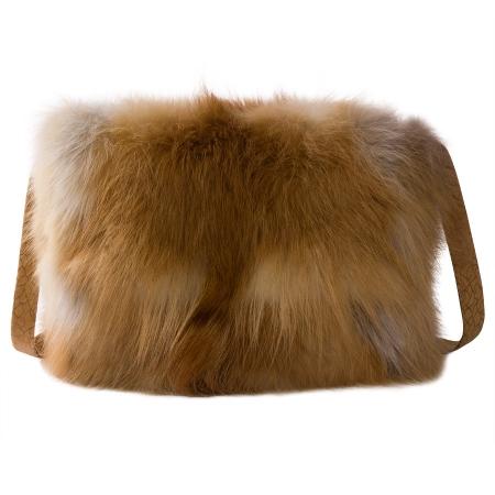 Женская сумка из меха А1031