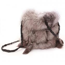 Женская сумка из Чернобурки А1002