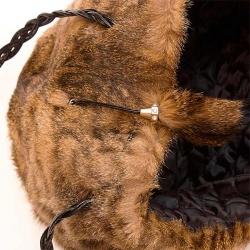 Женская сумка из меха А1004