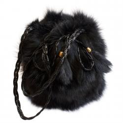 Женская сумка из меха А1014