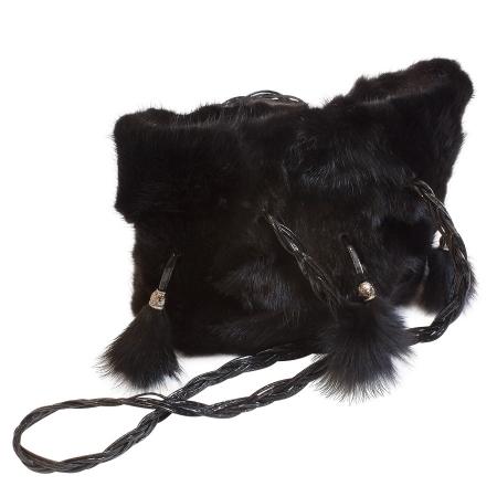 Женская сумка из меха А1032