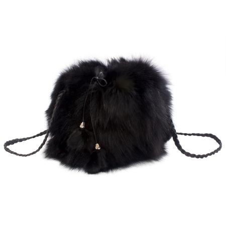 Женская сумка из меха А1042