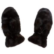 Меховые рукавицы из норки А4204