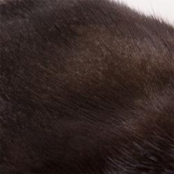 Меховые варежки А4201