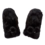 Норковые рукавицы А4167