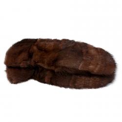 Варежки из меха А4156