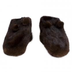 Варежки из норки А4274