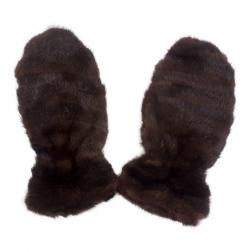 Варежки из норки А4152