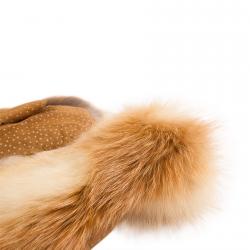 Варежки из лисы А4100
