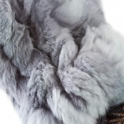 Варежки из кролика А4269