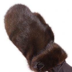 Варежки из норки А4160